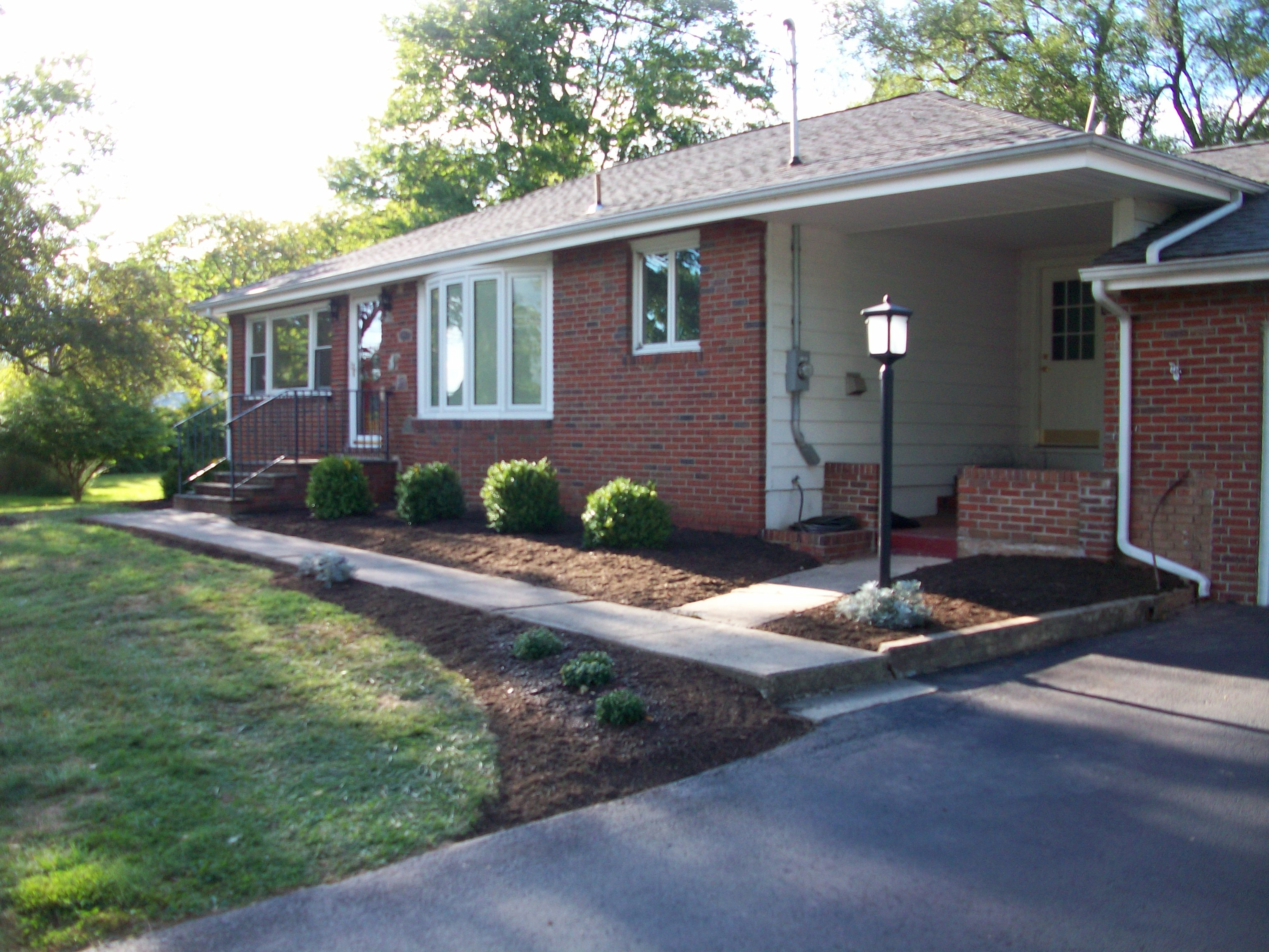 A Basic Landscaping Install 4 Seasons Lawn Care